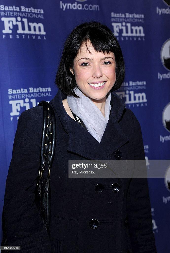 Director Mary Kerr attends the screening of 'Radioman' at the 28th Santa Barbara International Film Festival on January 27, 2013 in Santa Barbara, California.