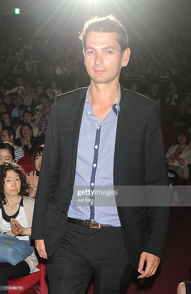 Director Mathieu Hippeau attends the French Film Festival 2013 at Yurakucho Asahi Hall on June 21, 2013 in Tokyo, Japan.