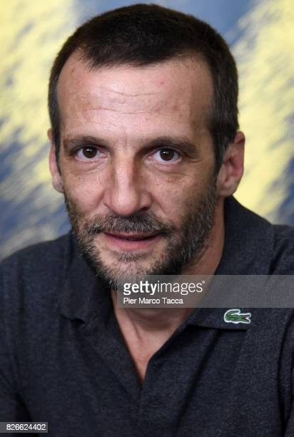 Director Mathieu Kassovitz attends a 'Sparring' photocall during the 70th Locarno Film Festival on August 5 2017 in Locarno Switzerland