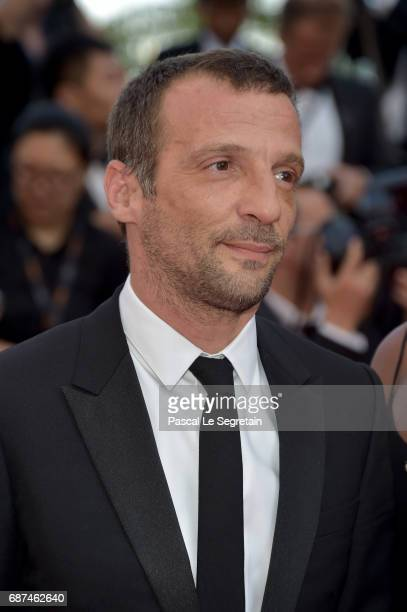 Director Mathieu Kassovitz attends the 70th Anniversary of the 70th annual Cannes Film Festival at Palais des Festivals on May 23 2017 in Cannes...