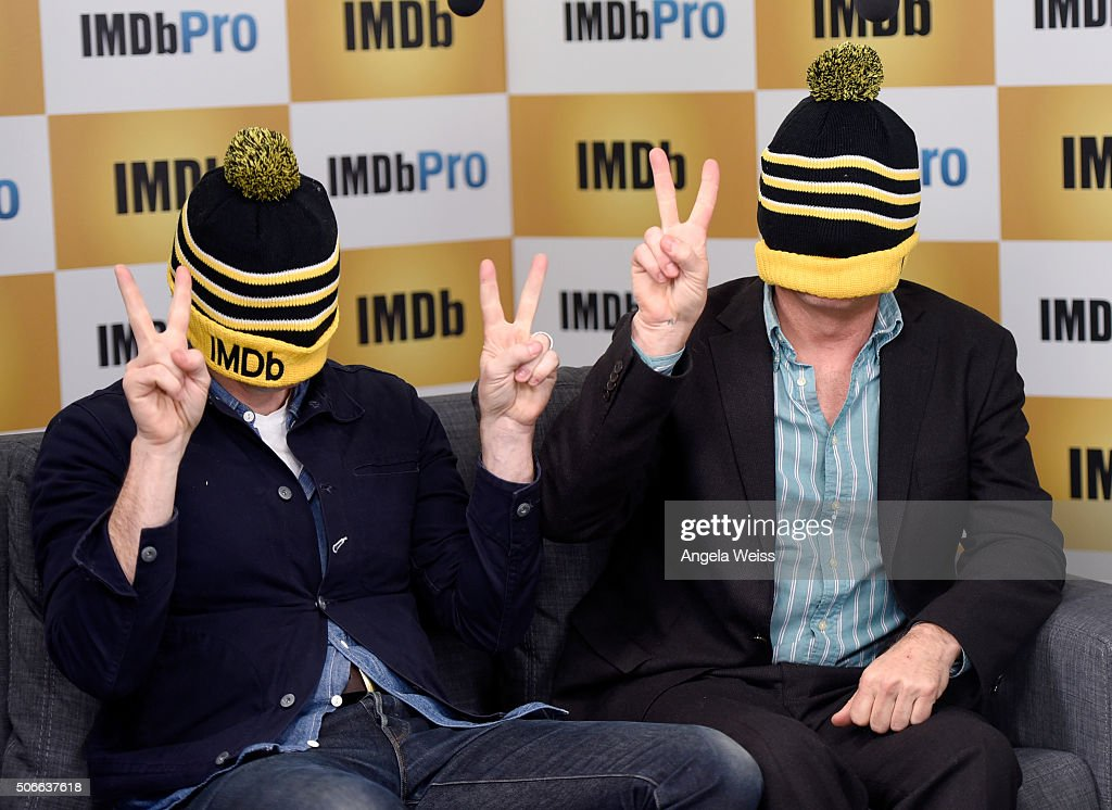 Director Matt Ross (L) and actor Viggo Mortensen in The IMDb Studio In Park City, Utah: Day Three - on January 24, 2016 in Park City, Utah.