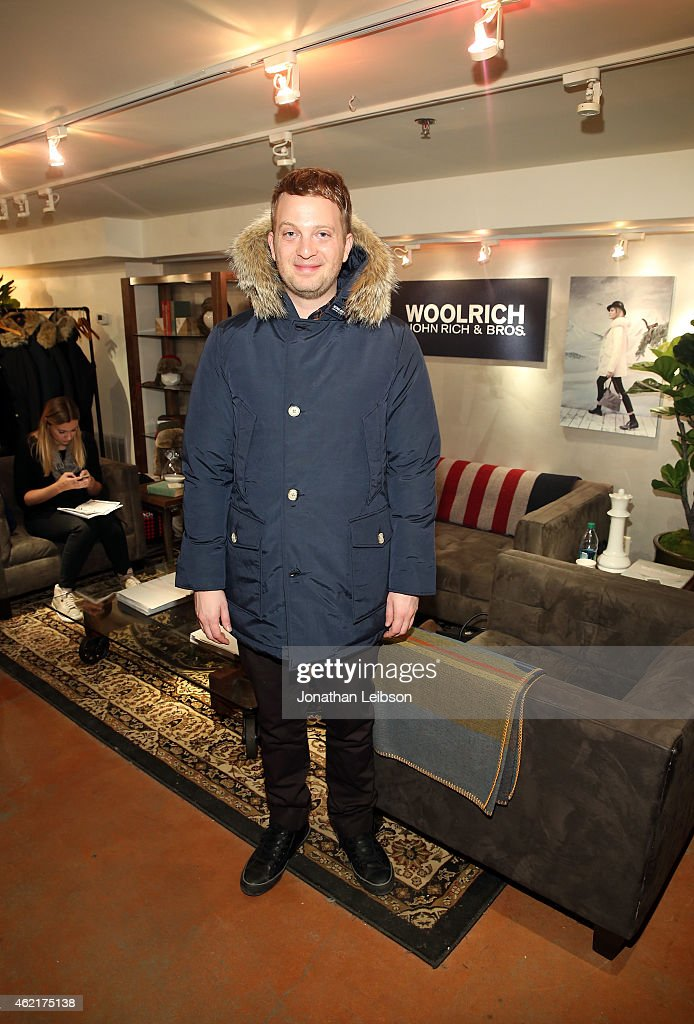 Director Matt Wolf attends The Variety Studio At Sundance Presented By Dockers on January 25 2015 in Park City Utah