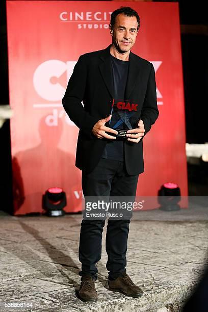 Director Matteo Garrone attends the Ciak D'Oro 2016 awards at Cinecitta on June 8 2016 in Rome Italy