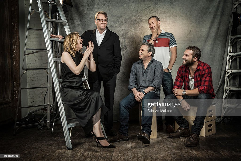 Director Matthew Saville and actors Joel Edgerton, Melissa George, Tom Wilkinson, Jai Courtney are photographed for The Hollywood Reporter during the 38th annual Toronto International Film Festival on September 9, 2013 in Toronto, Ontario. ON INTERNATIONAL EMBARGO (USA) UNTIL