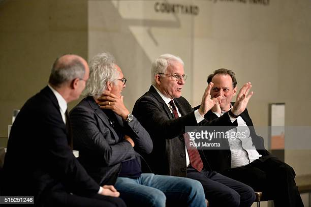 Director Matthew Teitelbaum Artist Eric Fischl Guest Curator Steve Martin and New Yorker columnist Adam Gopnik speak at MFABoston about works by...