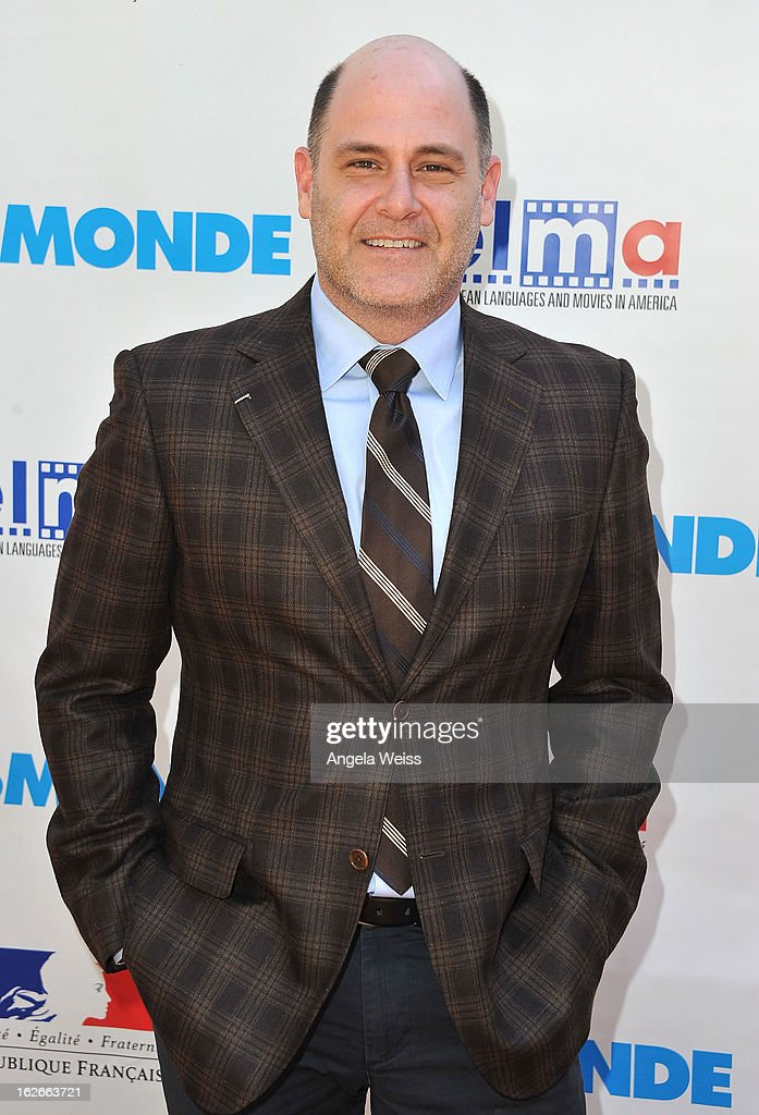 Director <a gi-track='captionPersonalityLinkClicked' href=/galleries/search?phrase=Matthew+Weiner&family=editorial&specificpeople=4148376 ng-click='$event.stopPropagation()'>Matthew Weiner</a> attends an event hosted by the Consul General Of France, Mr. Axel Cruau, honoring the French nominees for the 85th Annual Academy Awards at the French Consulate's home on February 25, 2013 in Beverly Hills, California.