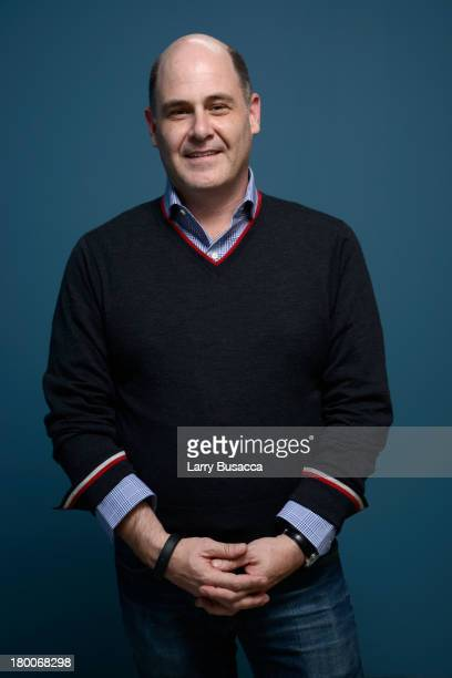 Director Matthew Weiner of 'You Are Here' poses at the Guess Portrait Studio during 2013 Toronto International Film Festival on September 8 2013 in...