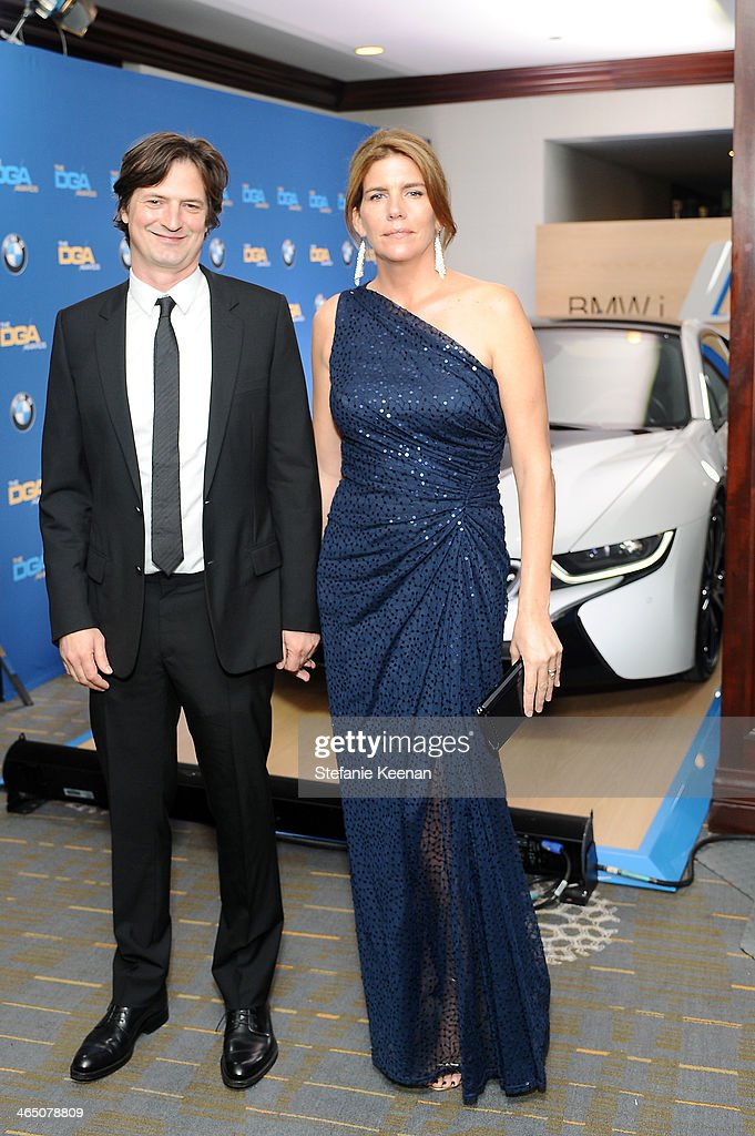 Director Matthijs van Heijningen Jr. and guest attend the 66th Annual Directors Guild Of America Awards held at the Hyatt Regency Century Plaza on January 25, 2014 in Century City, California.