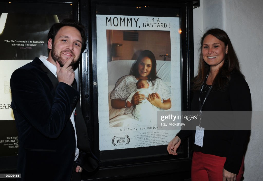 Director Max Barbakow and Wendy Reynolds attend a screening of 'Mommy I'm a Bastard!' at the 28th Santa Barbara International Film Festival on January 28, 2013 in Santa Barbara, California.