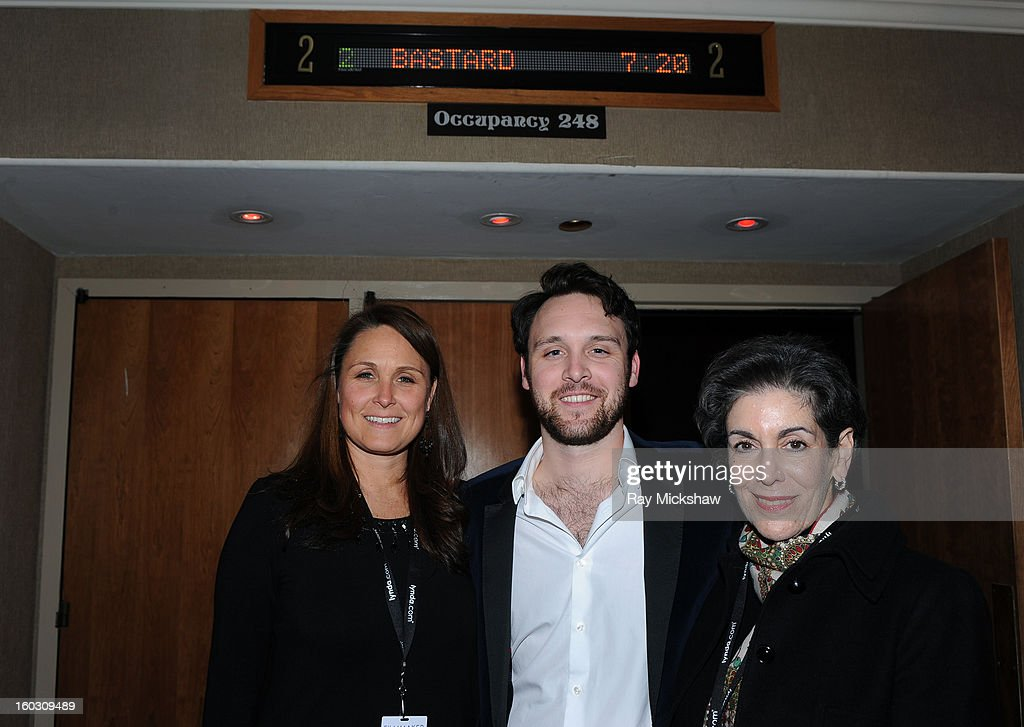 Director Max Barbakow, Wendy Reynolds and Margo Barbakow attend a screening of 'Mommy I'm a Bastard!' at the 28th Santa Barbara International Film Festival on January 28, 2013 in Santa Barbara, California.