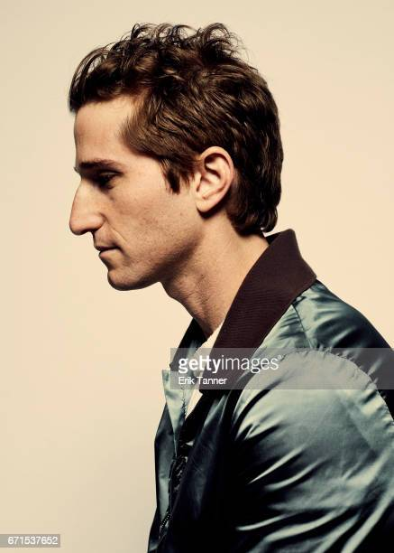 Director Max Winkler from 'Super Dark Times' pose for a portrait at the 2017 Tribeca Film Festival portrait studio on April 20 2017 in New York City