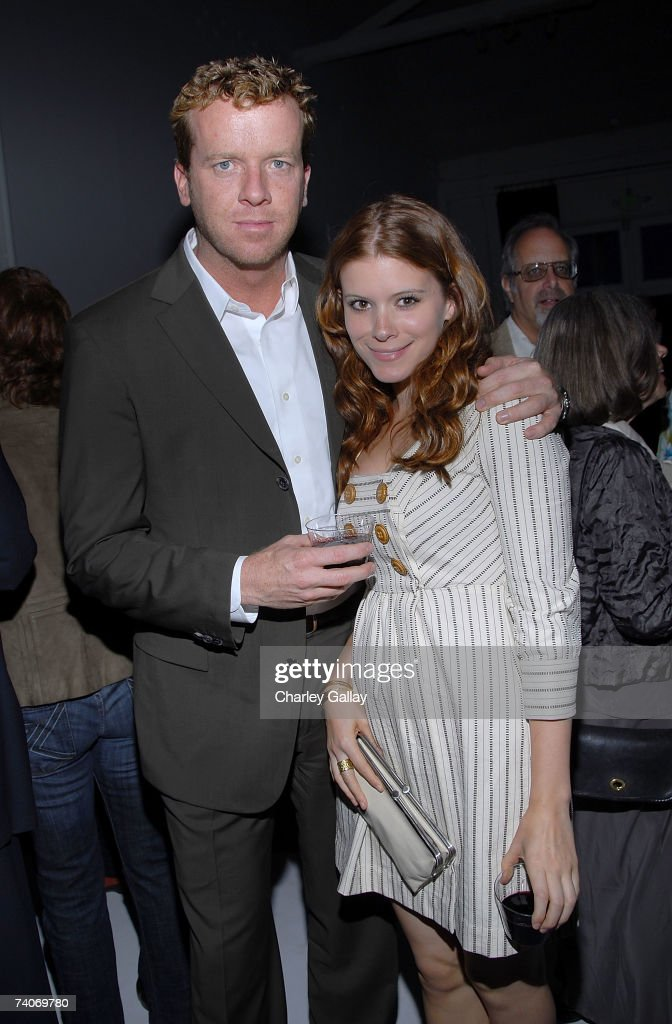 Director McG (L) and actress Kate Mara pose at the party for Laura Meyer and Robyn Roth's new book 'Remodel This! A Woman's Guide to Planning and Surviving the Madness of a Home Renovation' at Miauhaus Studios on May 3, 2007 in Los Angeles, California.
