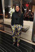 Director Meera Menon attends the after party for Sony Pictures Classics' 'Equity' screening hosted by The Cinema Society with Bloomberg and Thomas...