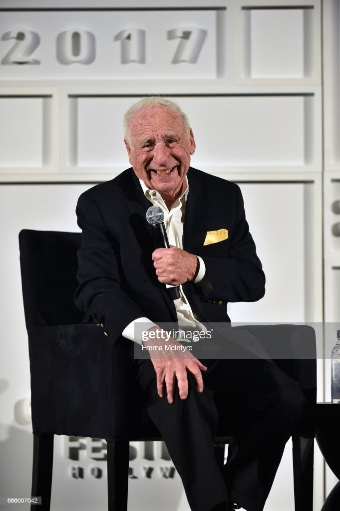 Director Mel Brooks speaks onstage at the screening of 'High Anxiety' during the 2017 TCM Classic Film Festival on April 7, 2017 in Los Angeles, California. 26657_004