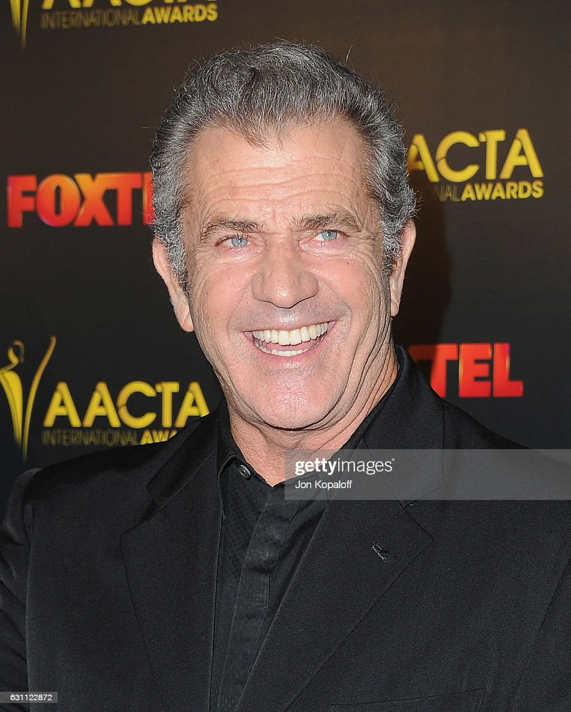 Director Mel Gibson arrives at the 6th AACTA International Awards at Avalon Hollywood on January 6, 2017 in Los Angeles, California.