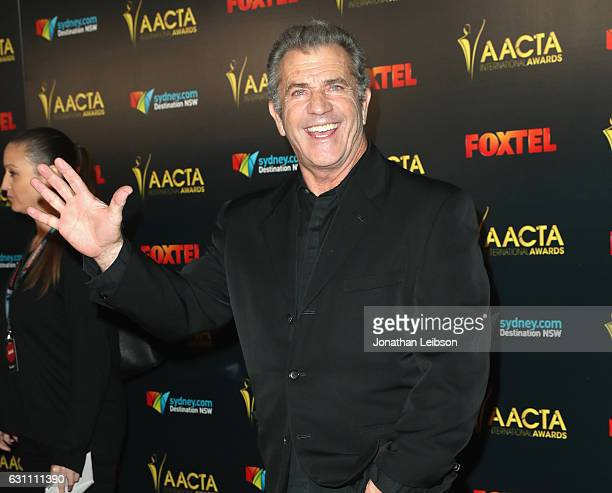 Director Mel Gibson attends The 6th AACTA International Awards on January 6 2017 in Los Angeles California