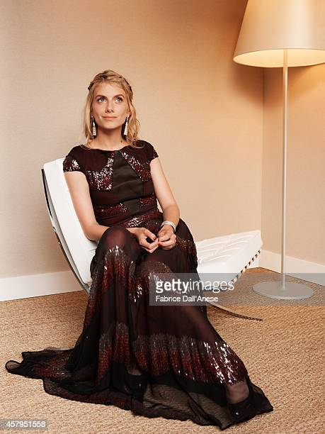 Director Melanie Laurent is photographed for Vanity Fair Italy on May 15 2014 in Cannes France