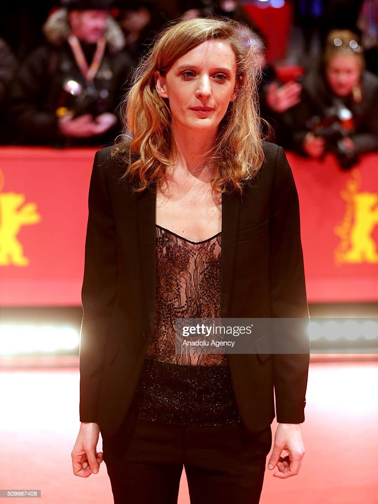 Director Mia Hansen-Love attends the 'Things to Come' (L'avenir) premiere during the 66th Berlinale International Film Festival Berlin at Berlinale Palace on February 13, 2016 in Berlin, Germany.