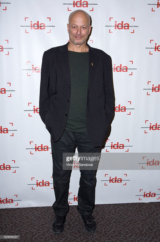 Director Micha X. Peled attends the 2012 IDA Documentary Awards at Directors Guild Of America on December 7, 2012 in Los Angeles, California.