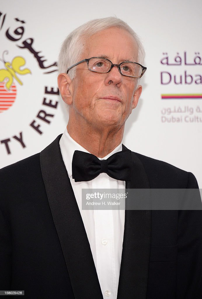Director Michael Apted attends the 'Life of PI' Opening Gala during day one of the 9th Annual Dubai International Film Festival held at the Madinat Jumeriah Complex on December 9, 2012 in Dubai, United Arab Emirates.