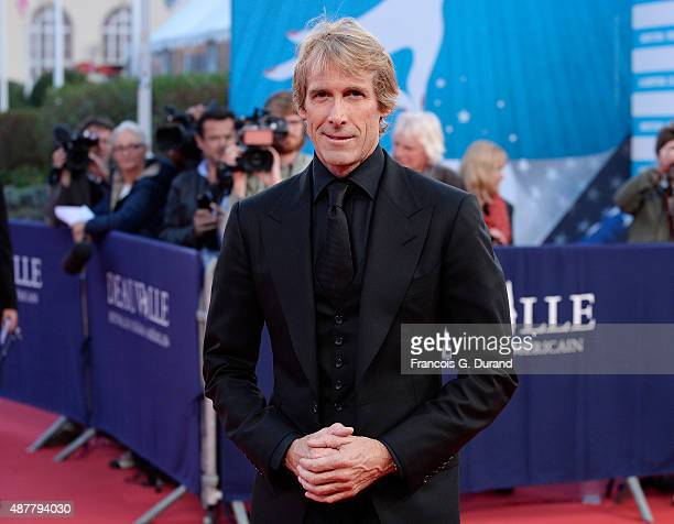 Director Michael Bay arrives at the 'The Man From UNCLE' Premiere during the 41st Deauville American Film Festival on September 11 2015 in Deauville...