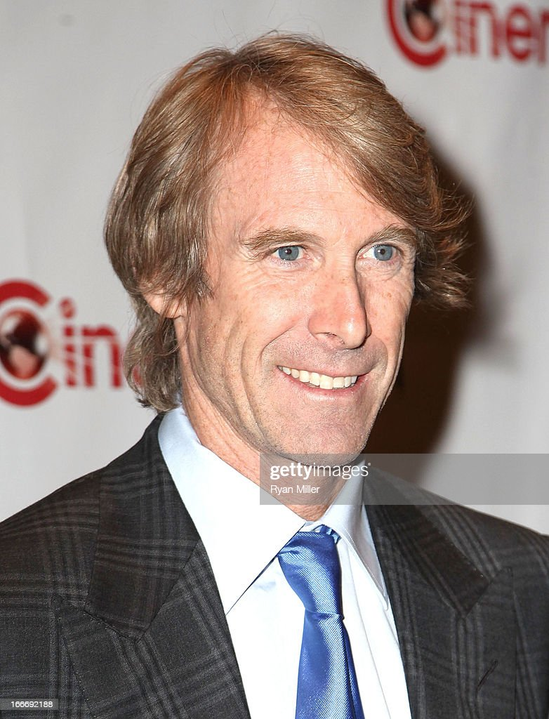 Director <a gi-track='captionPersonalityLinkClicked' href=/galleries/search?phrase=Michael+Bay&family=editorial&specificpeople=240532 ng-click='$event.stopPropagation()'>Michael Bay</a> attends the CinemaCon 2013 Off and Running: Gala Opening Night Presentation by Paramount Pictures at Caesars Palace during CinemaCon, the official convention of the National Association of Theatre Owners, on April 15, 2013 in Las Vegas, Nevada.