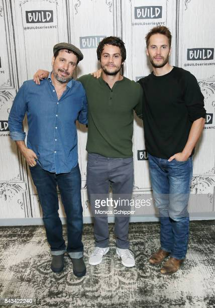 Director Michael Cuesta and actors Dylan O'Brien and Taylor Kitsch discuss their new movie 'American Assassin' at Build Studio on September 6 2017 in...