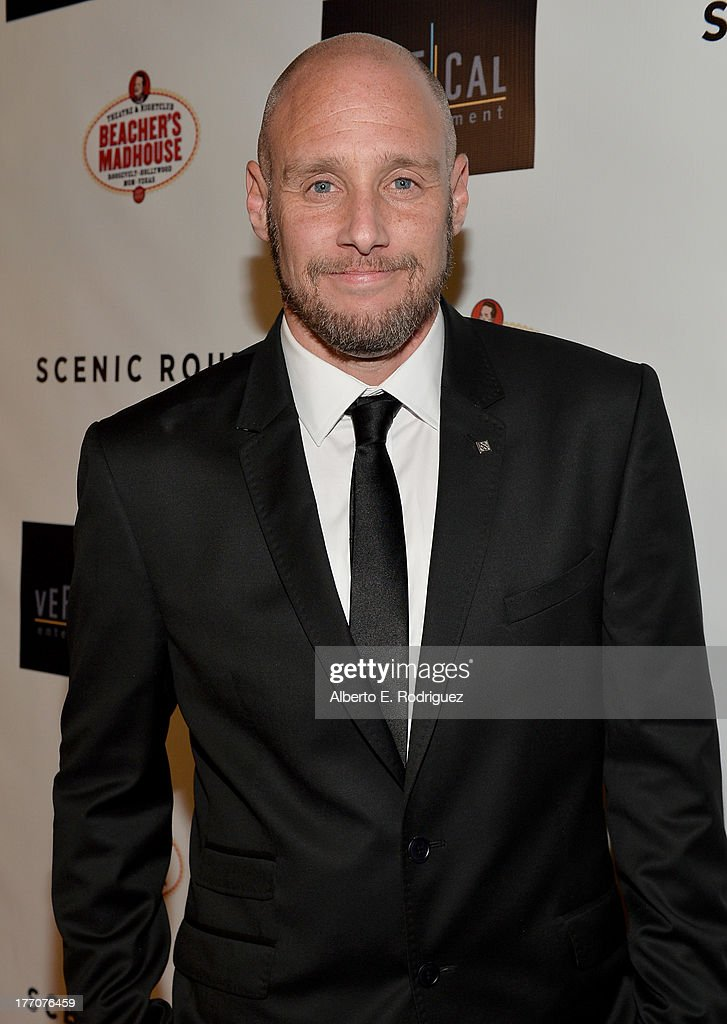 Director Michael Goetz arrives at the premiere of Vertical Entertainment's 'Scenic Route' at Chinese 6 Theater- Hollywood on August 20, 2013 in Hollywood, California.