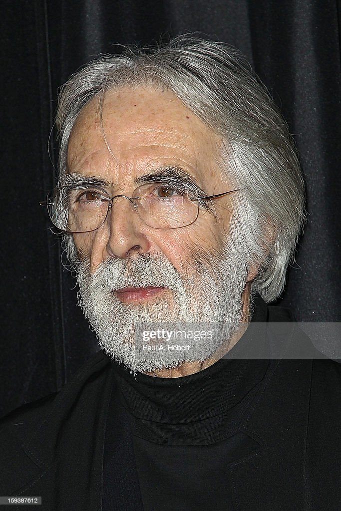 Director Michael Haneke arrives at the 38th Annual Los Angeles Film Critics Association Awards held at the InterContinental Hotel on January 12, 2013 in Century City, California.