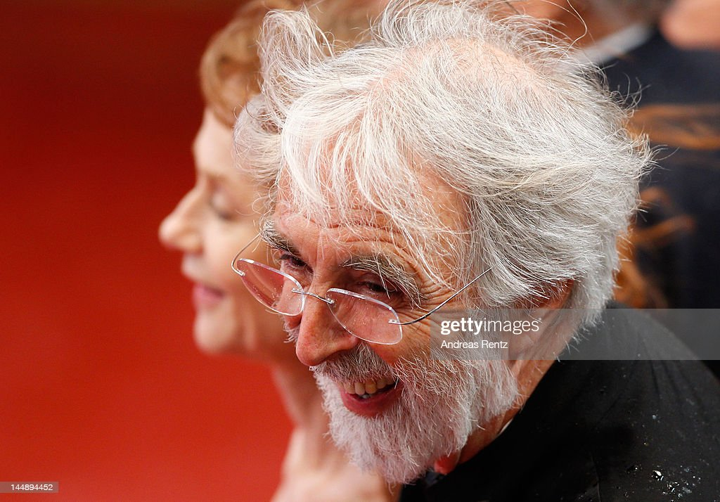Director <a gi-track='captionPersonalityLinkClicked' href=/galleries/search?phrase=Michael+Haneke&family=editorial&specificpeople=233739 ng-click='$event.stopPropagation()'>Michael Haneke</a> attend the 'Amour' premiere during the 65th Annual Cannes Film Festival at Palais des Festivals on May 20, 2012 in Cannes, France.