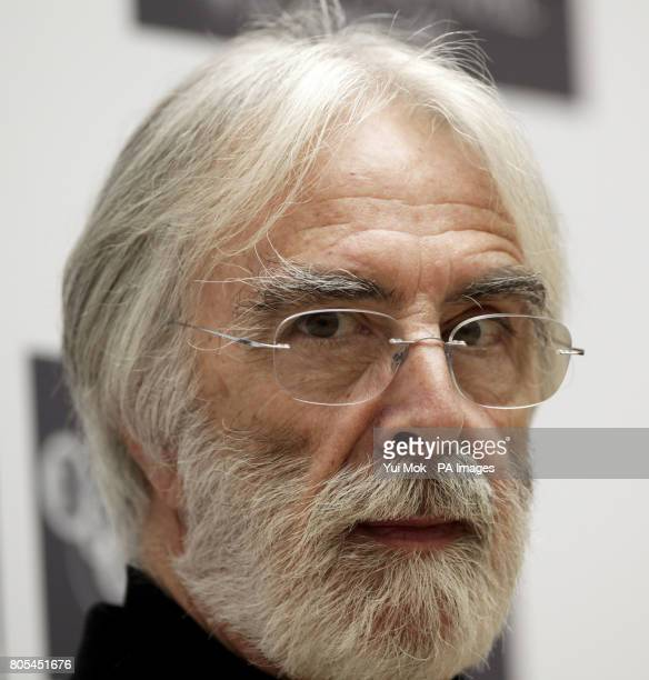 Director Michael Haneke attends a photocall to promote 'The White Ribbon' during London Film Festival at the Mayfair Hotel in central LondonPicture...