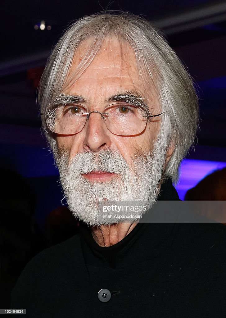 Director Michael Haneke attends the Sony Pictures Classics Pre-Oscar Dinner at The London Hotel on February 23, 2013 in West Hollywood, California.