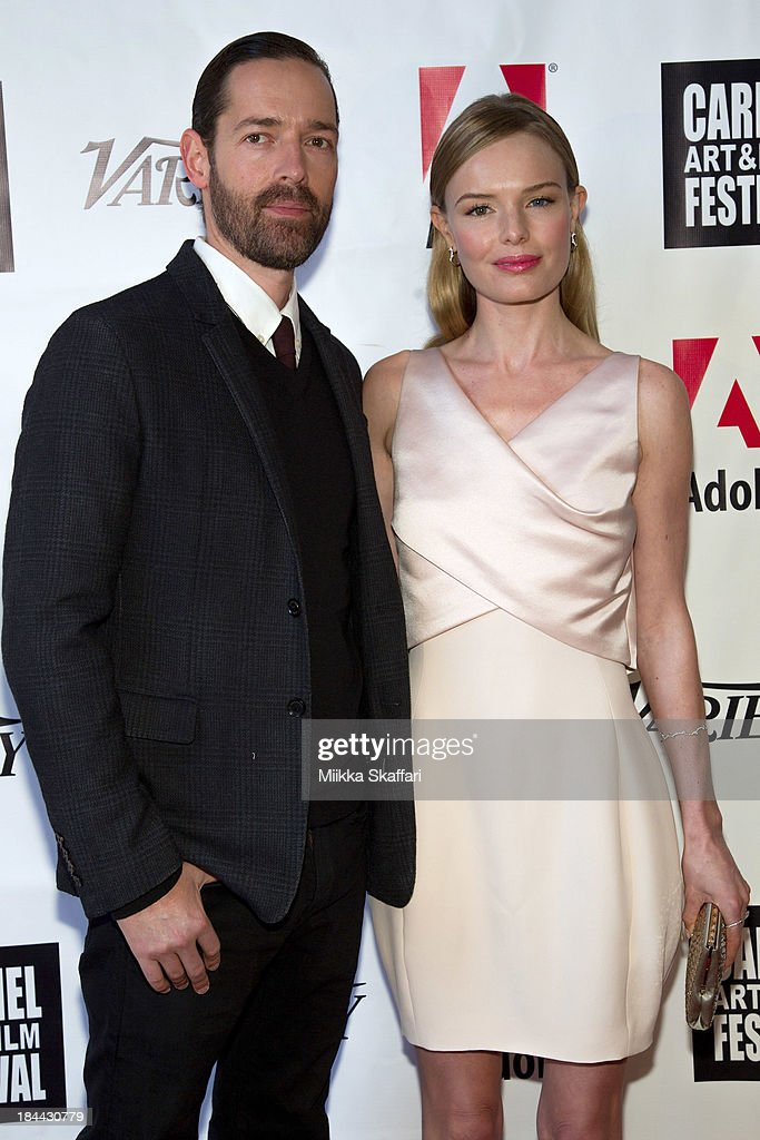 Director <a gi-track='captionPersonalityLinkClicked' href=/galleries/search?phrase=Michael+Polish&family=editorial&specificpeople=3204536 ng-click='$event.stopPropagation()'>Michael Polish</a> and actress <a gi-track='captionPersonalityLinkClicked' href=/galleries/search?phrase=Kate+Bosworth&family=editorial&specificpeople=201616 ng-click='$event.stopPropagation()'>Kate Bosworth</a> attend the 5th Annual Carmel Art & Film Festival at Sunset Cultural Arts Center on October 13, 2013 in Carmel, California.