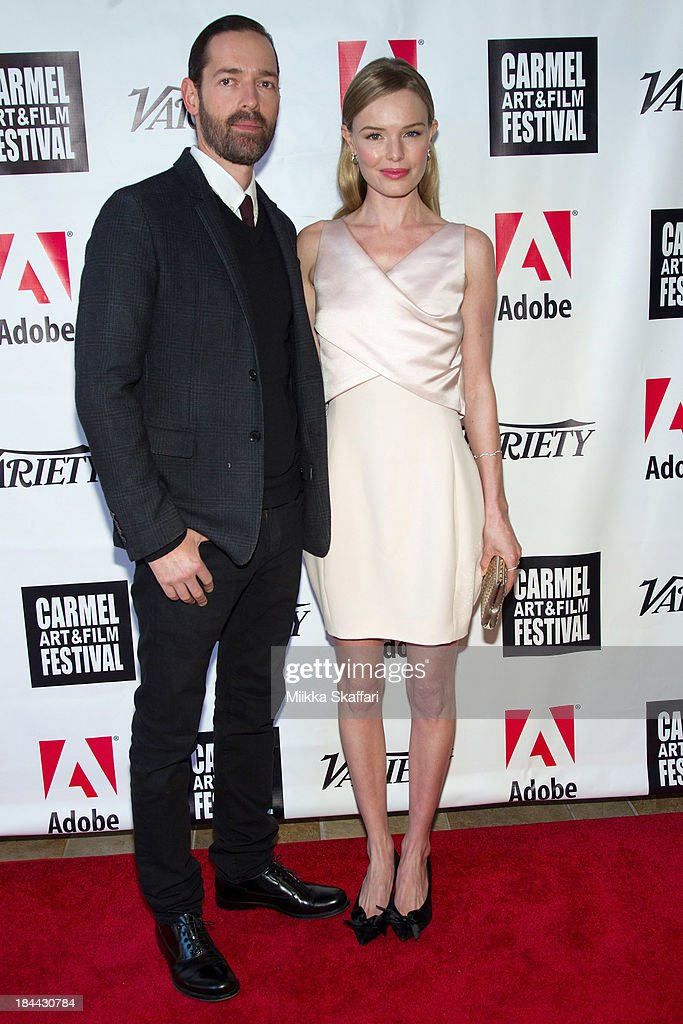 Director Michael Polish and actress Kate Bosworth attend the 5th Annual Carmel Art & Film Festival at Sunset Cultural Arts Center on October 13, 2013 in Carmel, California.