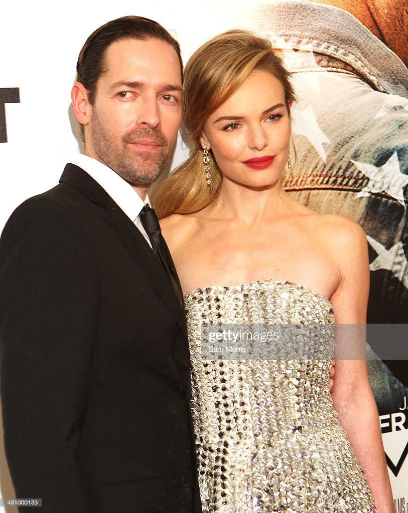 Director Michael Polish and his wife actress Kate Bosworth arrive at the Las Vegas premiere of Open Road Films''Homefront' at Planet Hollywood Resort & Casino on November 20, 2013 in Las Vegas, Nevada. The movie opens nationwide in the United States on November 27.