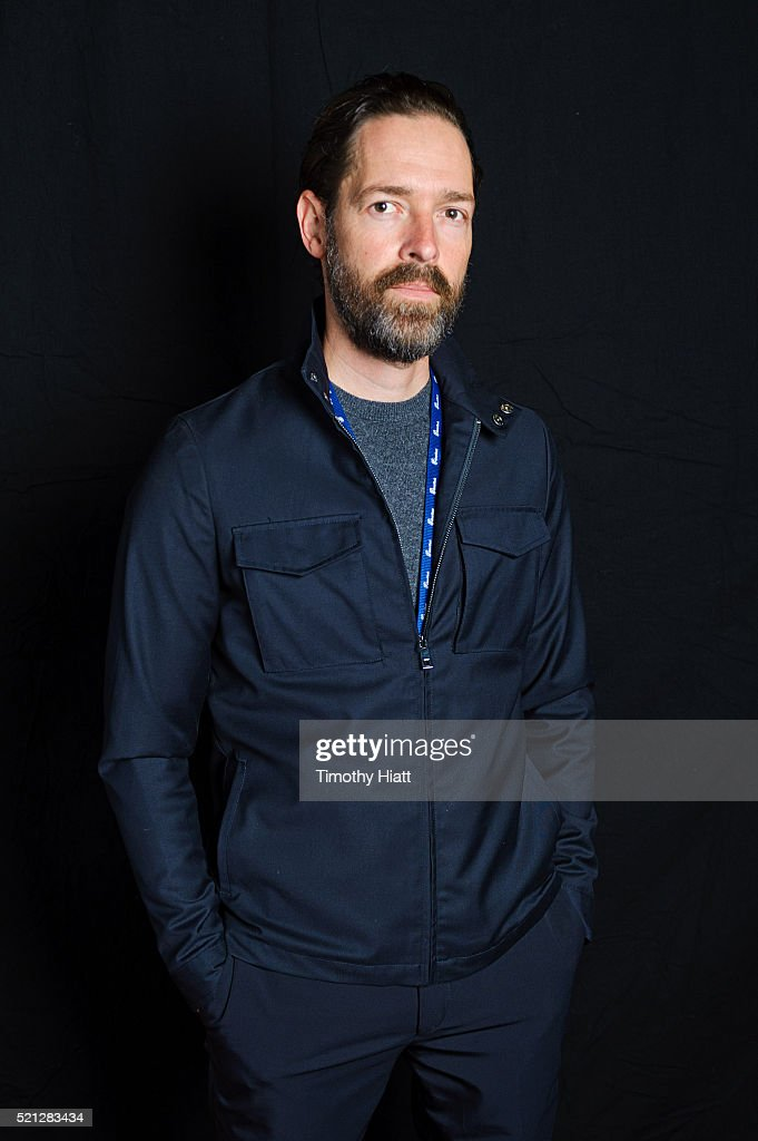 Director Michael Polish poses for a portrait at the 2016 Ebertfest on April 14, 2016 in Champaign, Illinois.
