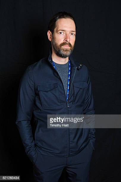 Director Michael Polish poses for a portrait at the 2016 Ebertfest on April 14 2016 in Champaign Illinois