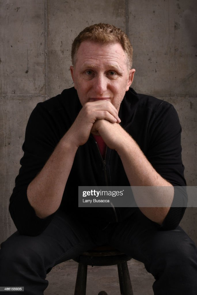 Director <a gi-track='captionPersonalityLinkClicked' href=/galleries/search?phrase=Michael+Rapaport&family=editorial&specificpeople=234353 ng-click='$event.stopPropagation()'>Michael Rapaport</a> from 'When the Garden Was Eden' poses at the Tribeca Film Festival Getty Images Studio on April 22, 2014 in New York City.