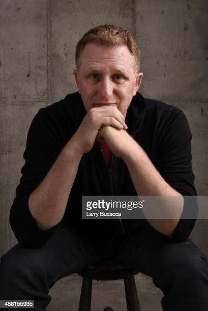 Director Michael Rapaport from 'When the Garden Was Eden' poses at the Tribeca Film Festival Getty Images Studio on April 22 2014 in New York City