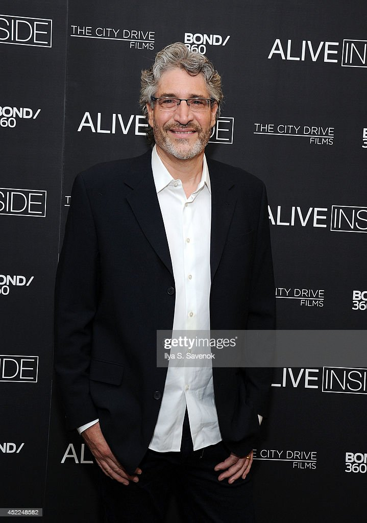 Director Michael Rossato-Bennett attends the 'Alive Inside' premiere at Crosby Street Hotel on July 16, 2014 in New York City.