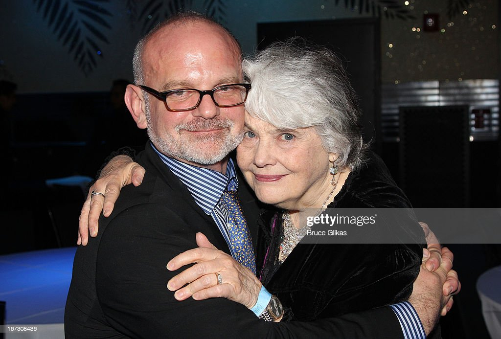 Director Michael Wilson and <a gi-track='captionPersonalityLinkClicked' href=/galleries/search?phrase=Lois+Smith+-+Actress&family=editorial&specificpeople=555970 ng-click='$event.stopPropagation()'>Lois Smith</a> attend the after party for the Broadway opening night of 'The Trip To Bountiful' at The Copacabana on April 23, 2013 in New York City.