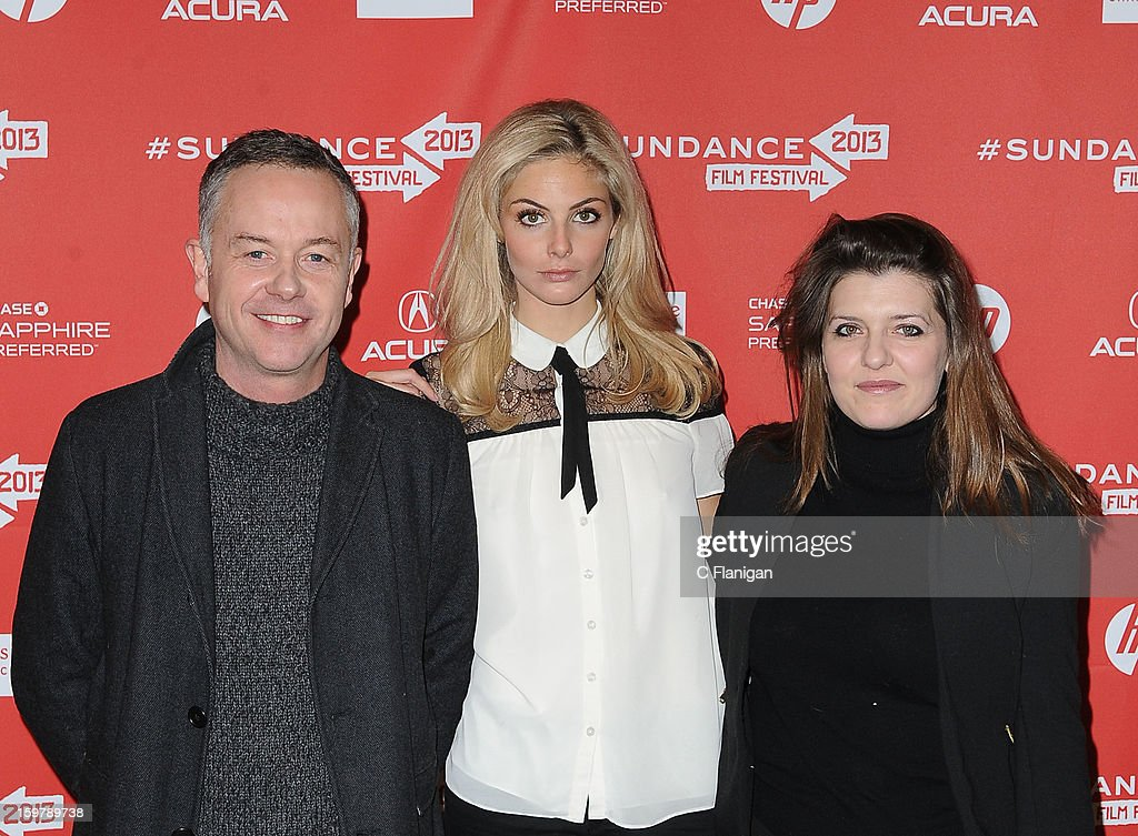 L-R) Director <a gi-track='captionPersonalityLinkClicked' href=/galleries/search?phrase=Michael+Winterbottom&family=editorial&specificpeople=220190 ng-click='$event.stopPropagation()'>Michael Winterbottom</a>, actress/model <a gi-track='captionPersonalityLinkClicked' href=/galleries/search?phrase=Tamsin+Egerton&family=editorial&specificpeople=2118936 ng-click='$event.stopPropagation()'>Tamsin Egerton</a> and producer Melissa Parmenter attend 'The Look Of Love' premiere at Eccles Center Theatre during the 2013 Sundance Film Festival on January 19, 2013 in Park City, Utah.