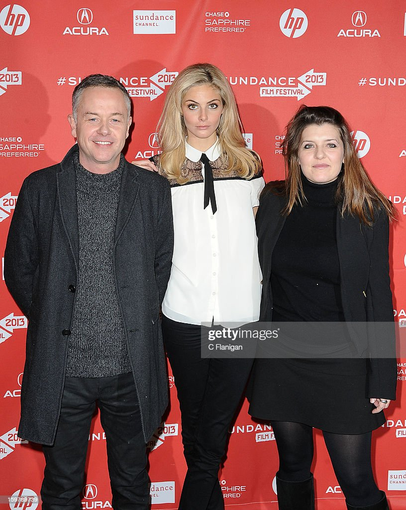 Director <a gi-track='captionPersonalityLinkClicked' href=/galleries/search?phrase=Michael+Winterbottom&family=editorial&specificpeople=220190 ng-click='$event.stopPropagation()'>Michael Winterbottom</a>, actress/model <a gi-track='captionPersonalityLinkClicked' href=/galleries/search?phrase=Tamsin+Egerton&family=editorial&specificpeople=2118936 ng-click='$event.stopPropagation()'>Tamsin Egerton</a> and producer Melissa Parmenter attend 'The Look Of Love' premiere at Eccles Center Theatre during the 2013 Sundance Film Festival on January 19, 2013 in Park City, Utah.