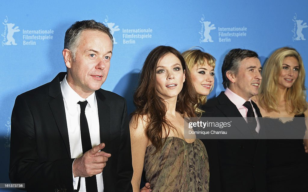 Director <a gi-track='captionPersonalityLinkClicked' href=/galleries/search?phrase=Michael+Winterbottom&family=editorial&specificpeople=220190 ng-click='$event.stopPropagation()'>Michael Winterbottom</a> and actors <a gi-track='captionPersonalityLinkClicked' href=/galleries/search?phrase=Anna+Friel&family=editorial&specificpeople=202225 ng-click='$event.stopPropagation()'>Anna Friel</a>, <a gi-track='captionPersonalityLinkClicked' href=/galleries/search?phrase=Imogen+Poots&family=editorial&specificpeople=4265532 ng-click='$event.stopPropagation()'>Imogen Poots</a>, <a gi-track='captionPersonalityLinkClicked' href=/galleries/search?phrase=Steve+Coogan&family=editorial&specificpeople=204648 ng-click='$event.stopPropagation()'>Steve Coogan</a> and <a gi-track='captionPersonalityLinkClicked' href=/galleries/search?phrase=Tamsin+Egerton&family=editorial&specificpeople=2118936 ng-click='$event.stopPropagation()'>Tamsin Egerton</a> attend 'The Look Of Love' Photocall during the 63rd Berlinale International Film Festival at Grand Hyatt Hotel on February 10, 2013 in Berlin, Germany.