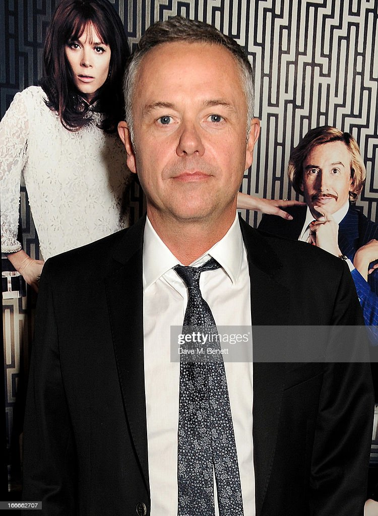 Director Michael Winterbottom attends the UK Premiere of 'The Look Of Love' at the Curzon Soho on April 15 2013 in London England