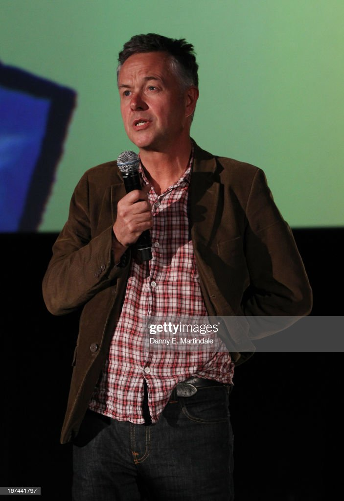 Director Michael Winterbottom speaks at the'The Look Of Love' screening during the Sundance London Film and Music Festival 2013 at Sky Superscreen O2...