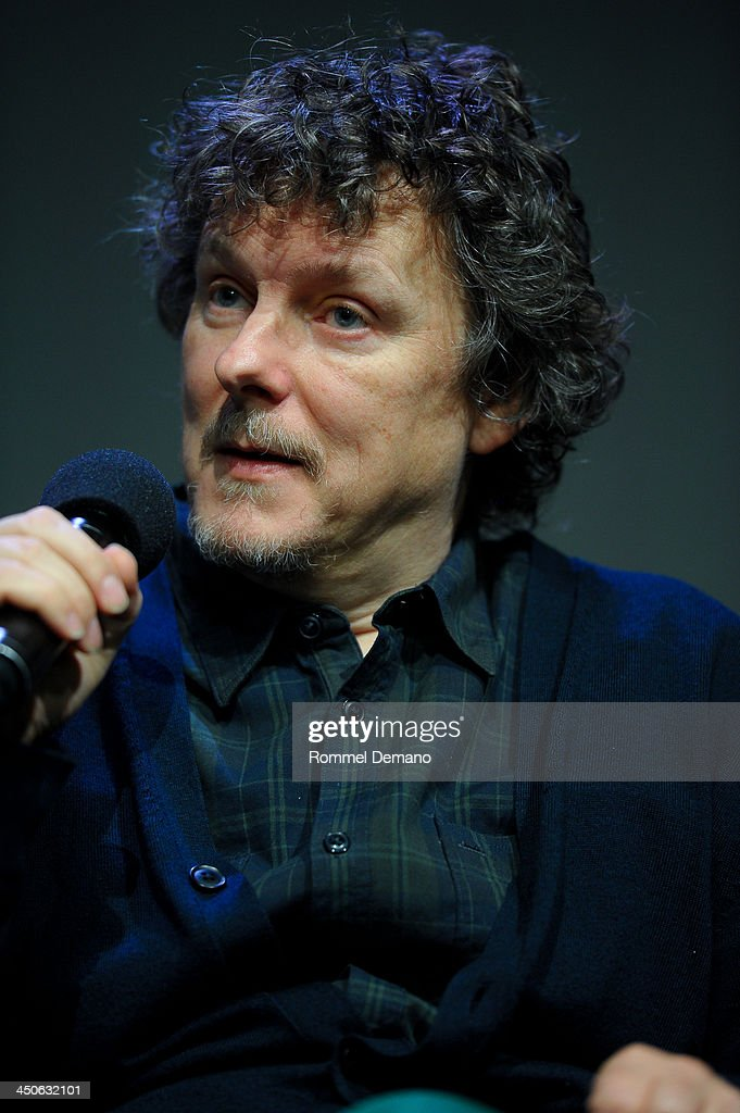 Director <a gi-track='captionPersonalityLinkClicked' href=/galleries/search?phrase=Michel+Gondry&family=editorial&specificpeople=216337 ng-click='$event.stopPropagation()'>Michel Gondry</a> attends Meet the Filmmaker; <a gi-track='captionPersonalityLinkClicked' href=/galleries/search?phrase=Michel+Gondry&family=editorial&specificpeople=216337 ng-click='$event.stopPropagation()'>Michel Gondry</a>, 'Is the Man Who Is Tall Happy' at the Apple Store Soho on November 19, 2013 in New York City.