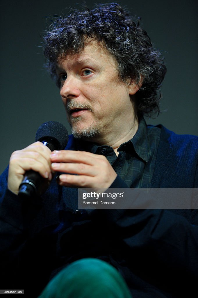 Director Michel Gondry attends Meet the Filmmaker; Michel Gondry, 'Is the Man Who Is Tall Happy' at the Apple Store Soho on November 19, 2013 in New York City.