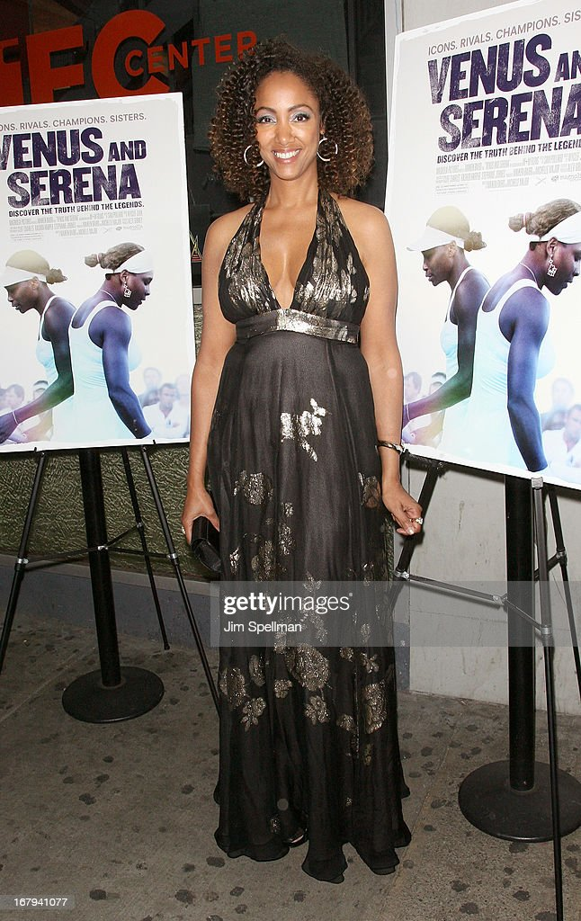 Director Michelle Major attends the 'Venus And Serena' New York Screening at IFC Center on May 2, 2013 in New York City.