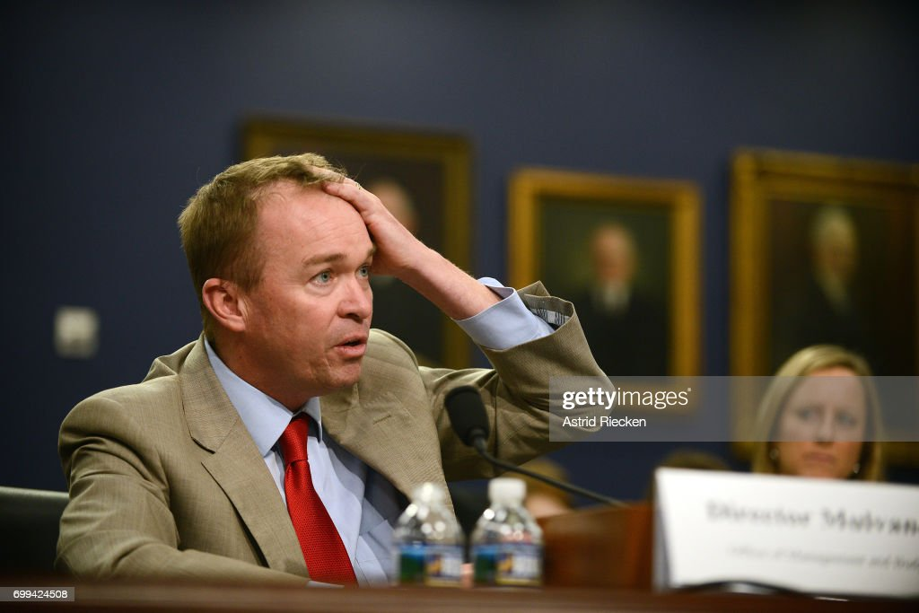 OMB Director Mick Mulvaney Testifies To House Committee On Dept.'s Budget
